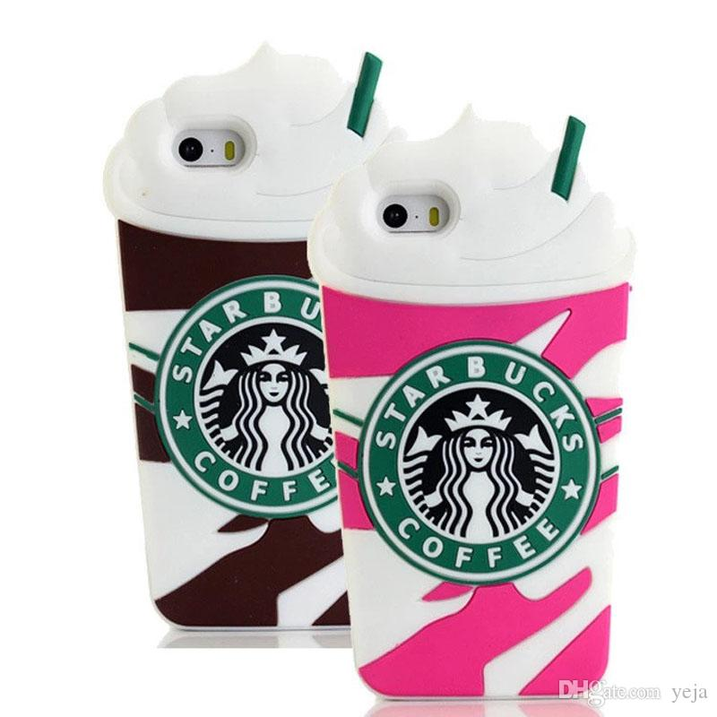 3d Starbucks Coffee Cup Simulation Soft Gel Rubber