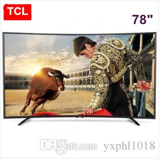 Tcl 78 Inch Curved Surface High Color Gamut True 4k Smart Tv 12 Nuclear Uhd Ultra High Definition Lcd Tv Resolution Of 3840 2160 Tv Led 32 Inch Tv From