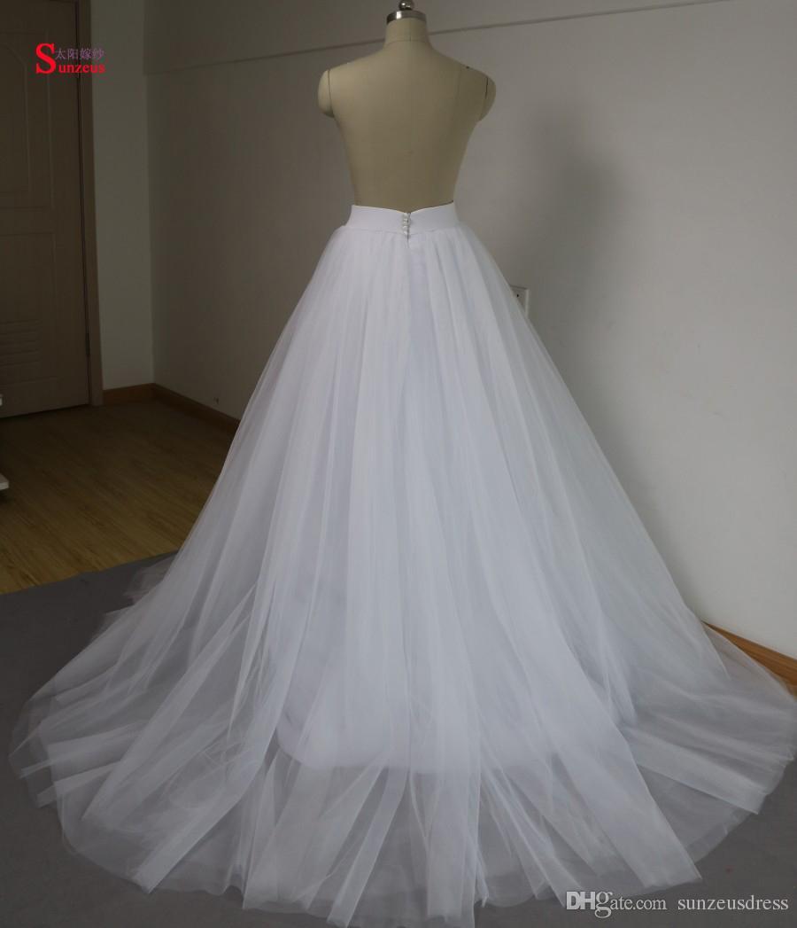2017 Осень Зима с длинным рукавом свадебные платья реальные изображения из двух частей свадебные платья трапеция длинный тюль халат де mariage