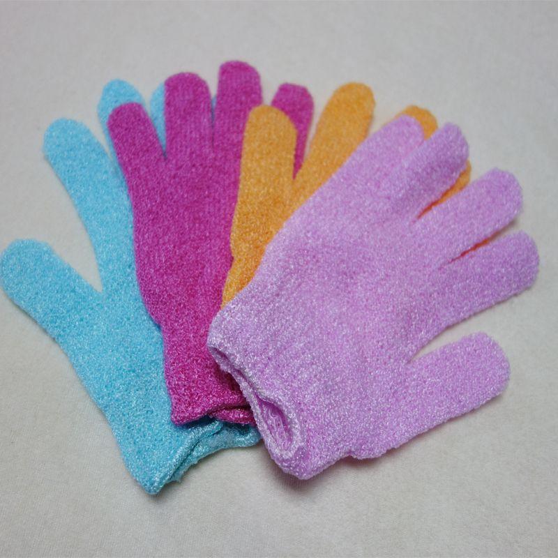 2017 heißer verkauf Tuch Mitt Peeling Gesicht oder Körper Bad Peeling Feuchtigkeitshandschuhe Apri whitel Handschuh großhandel einzelhandel