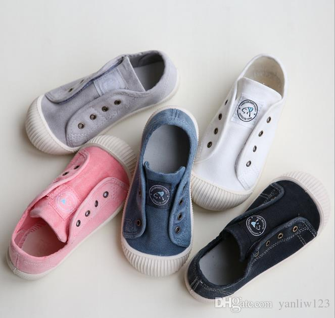 Children's Shoes Kids Shoes Girl Boy sneakers Canvas Children Shoes Denim Running Sport Baby Sneakers Girls Boys