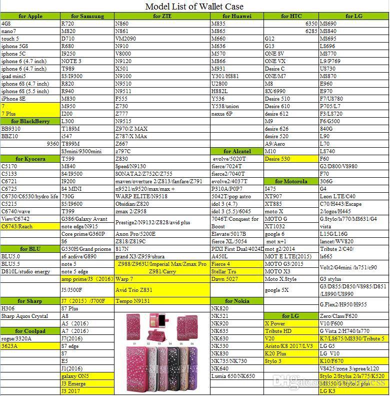 Für Coolpad Defiant 3632 LG Aristo MS210 K20 Plus K10 Stylo 3 Plus Stylus TPU Strass Glitzer Brieftasche Kartensteckplatz Fotorahmen