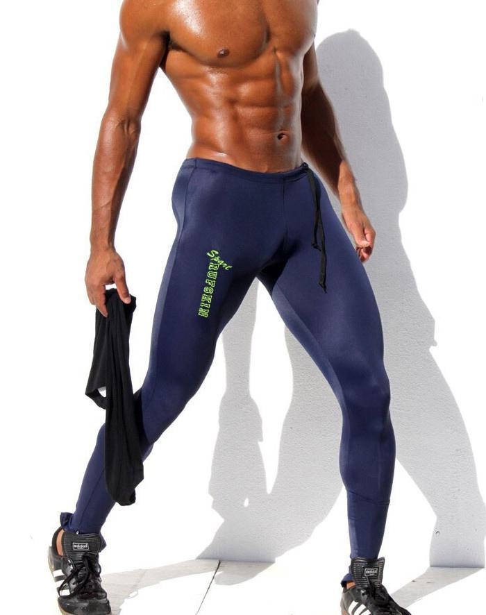 f127b5e7c050 Wholesale-Fashion Mens Compression Pants Low Rise Sweatpants Elastic ...