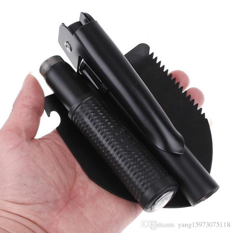 Outdoor Multi-function Tools Military Portable Folding Shovel Survival Spade Emergency Trowel Dibble Pick Garden Camping 150
