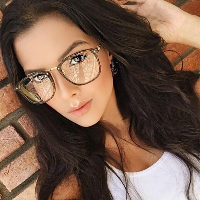 2018 Wholesale Oversized Eyewear Frame Women Men Fashion Eyeglass ...