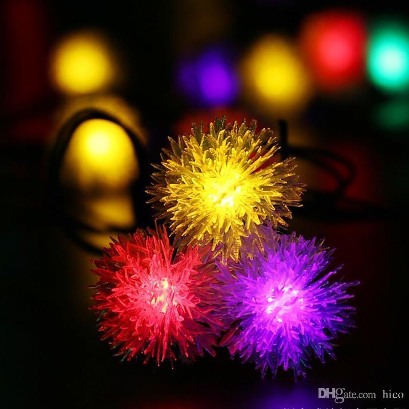 Güneş dize ışıkları Chuzzle ışık dize led noel ışıkları led güneş ışıkları 4.8 M 20 Led Bahçe Için Güneş Enerjisi açık su geçirmez