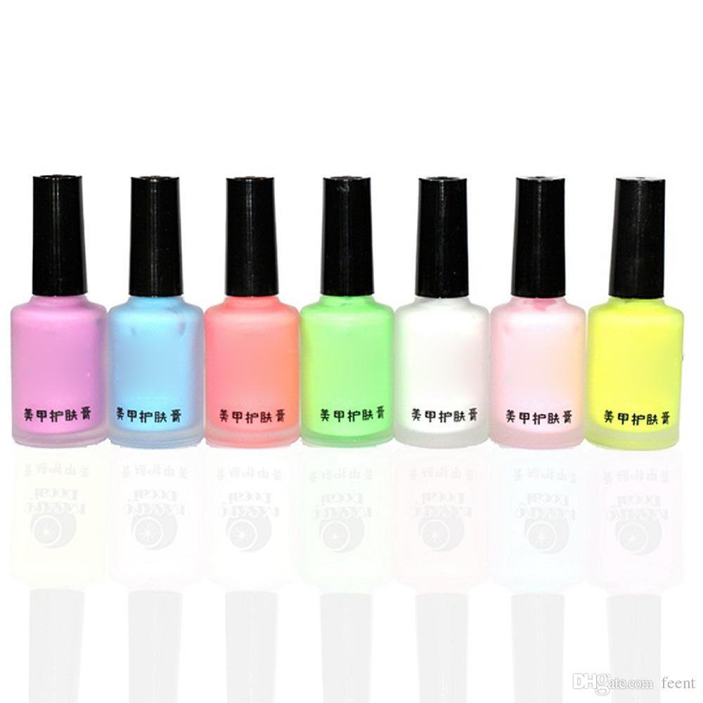 Wholesale Colorful Nail Polish Nail Art Tape Latex Finger Skin ...