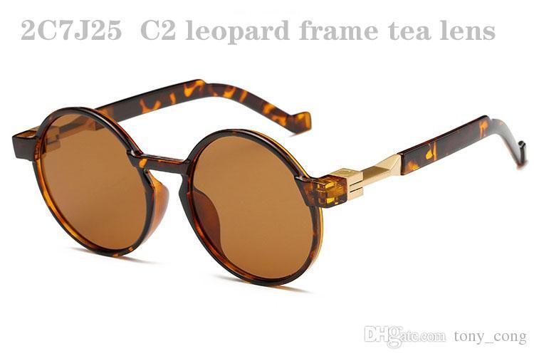 Occhiali da sole uomo Donna Occhiali da sole da uomo di moda Occhiali da sole Retro Occhiali da sole Donna Occhiali da sole Occhiali da sole rotondi Designer 2C7J25