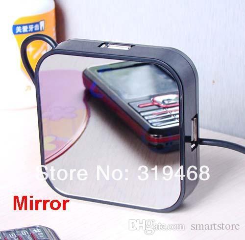 / RA alta velocità 4 porte USB 2.0 Hub del cavo del divisore Magico Adattatore Specchio disegno di trasporto 0001