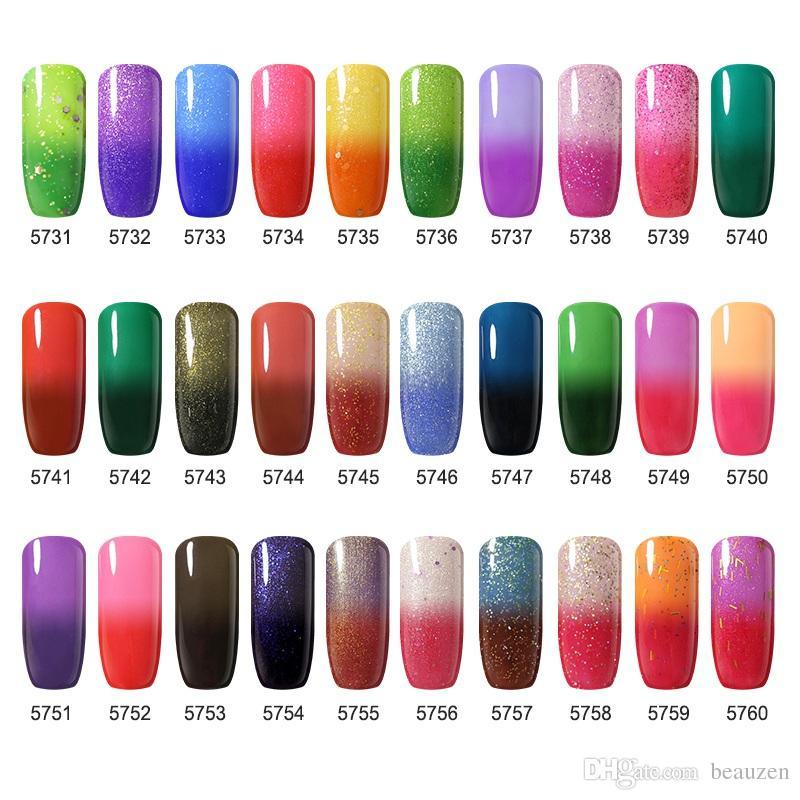 Fashion Ido Gelish Soak Off Uv Led Temperature Color Changing Gel ...