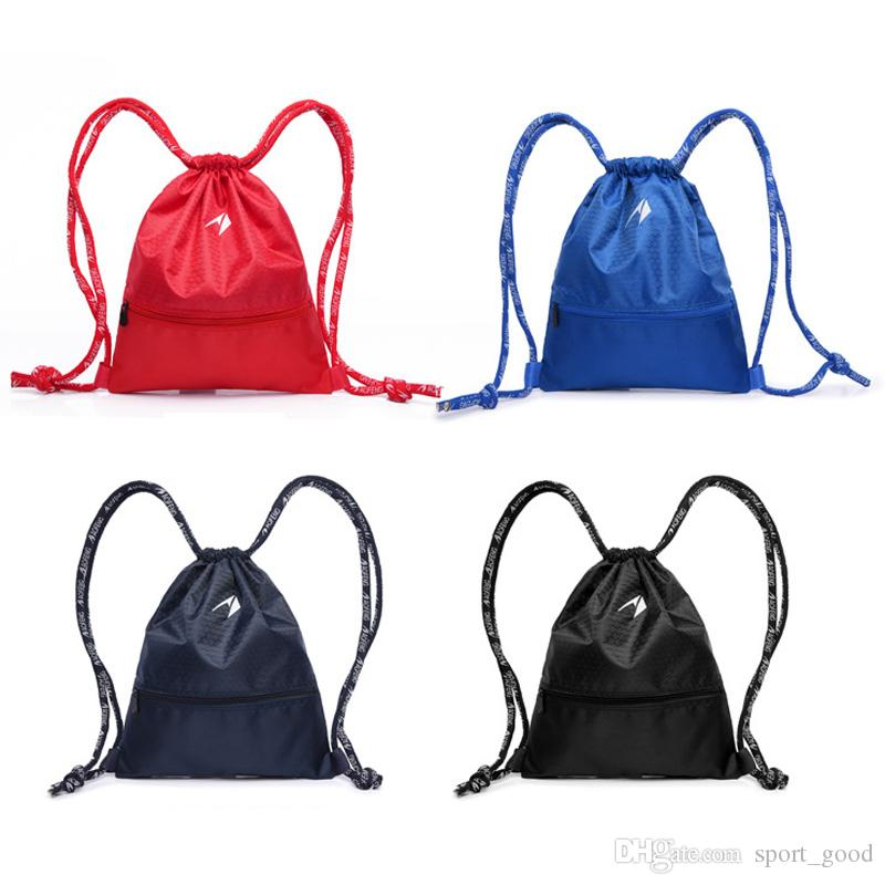 Outdoor sports drawstring bags bundle mouth bag backpack dance bag basketball package riding fitness bags for sale