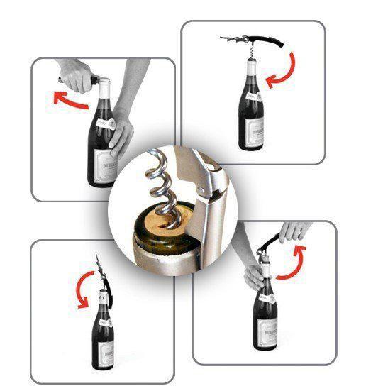 الحار!!! الجملة يمكن فتاحة زجاجات النبيذ المفتاح المفتاح تسليم سريع
