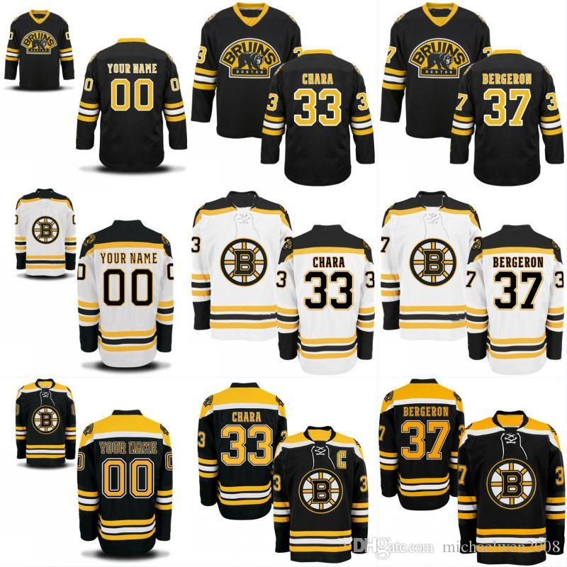 240f075b5 2019 Mens Womens Youth Boston Bruins Jerseys 33 Zdeno Chara 37 Patrice  Bergeron 40 Tuukka Rask 46 David Krejci Personalized Customized Jerseys From  ...