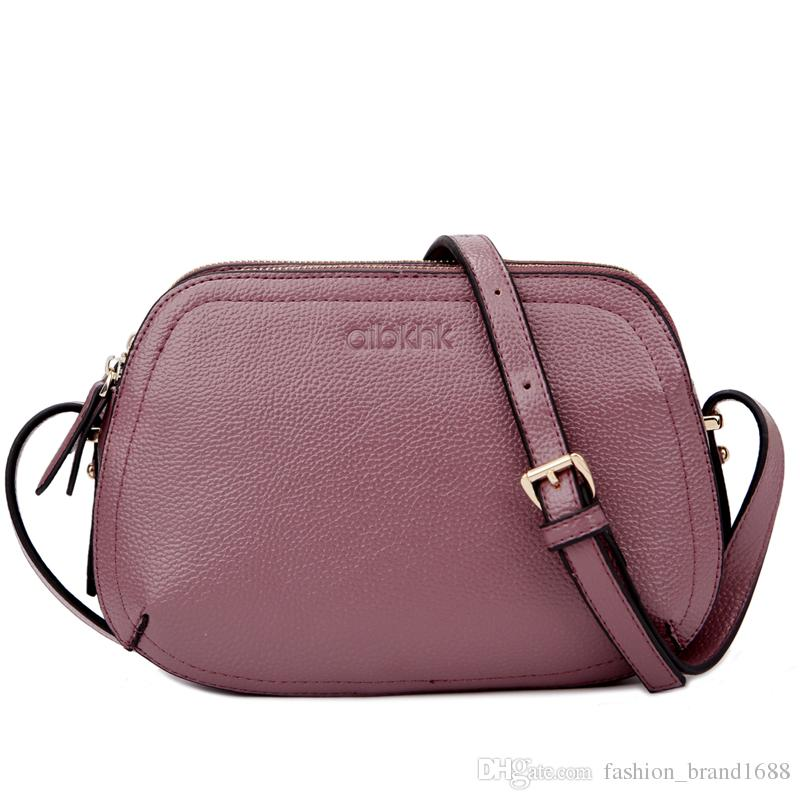 Simple fashion bag bag three South Korean calfskin BAG