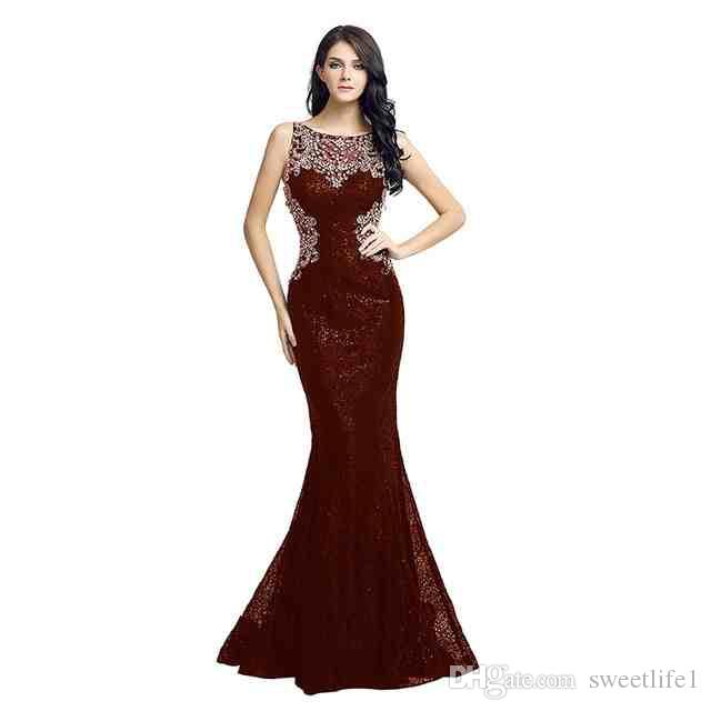 Sexy Black Lace Evening Gowns Long Mermaid Beaded Crystals Sheer Back Real Photos Floor Length Prom Formal Occasion Dress LX171