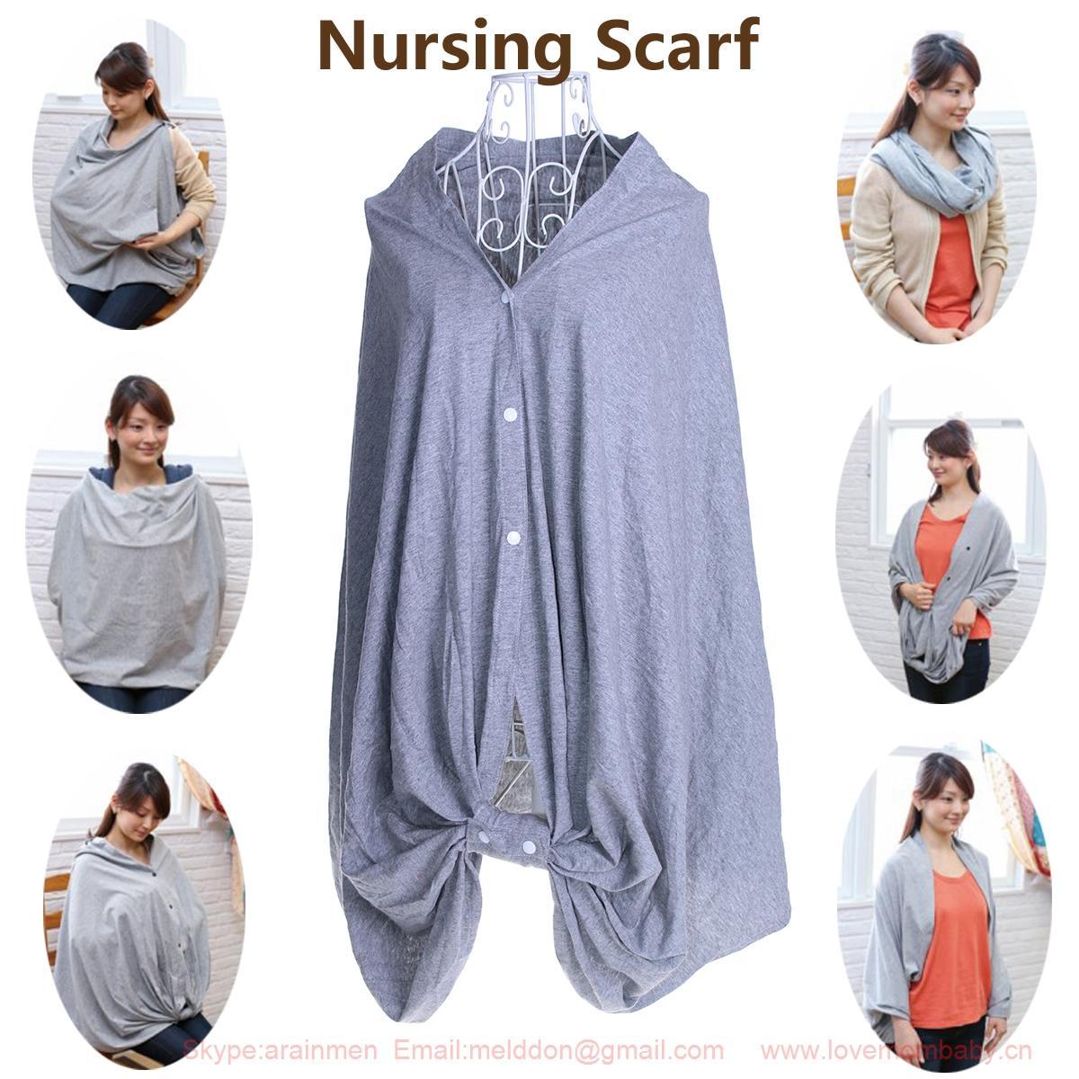 sandexica nursing scarf breast feeding cover up multifunctional