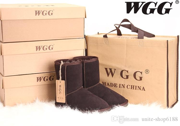 WGG boot Winter waterproof childrens snow boots warm Christmas winter girls boys kids boots Australian snow boots Baby Shoes 5281 Shoes