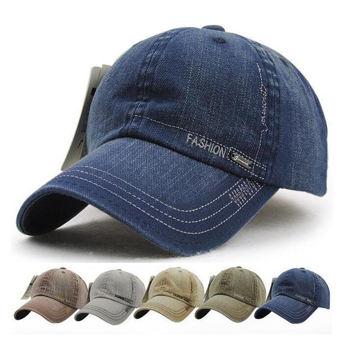 3836ee81d1b 2016 Baseball Cap Men Women Snapback Caps Brand Golf Hats For Women Hat  Visor Bone Jeans Denim Blank Gorras Casquette Plain Cap High Quality Golf  Hat China ...