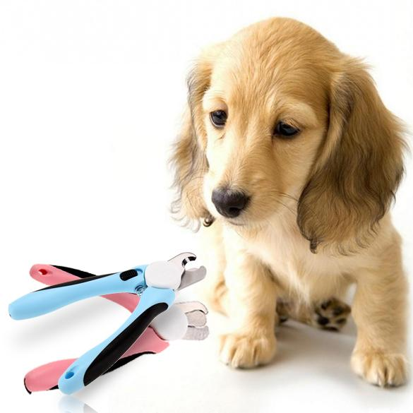 New 1 Pcs Blue/Pink Practical Dog Cat Nail Clippers Scissors Claw Cutter Pet Nail Grooming Trimmer Clipper Tool