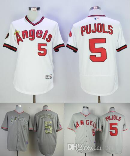 cf47a6640ae 2017 5 albert pujols jersey los angeles angels flexbase baseball jerseys  albert pujols