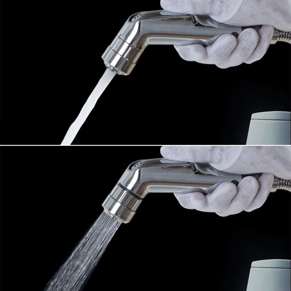 Chrome ABS Bidet nozzle sprinkler Bidet spray Woman Cleaning Equipment Shattaf Sprayer Small shower heads Set Jet Flow and Soft