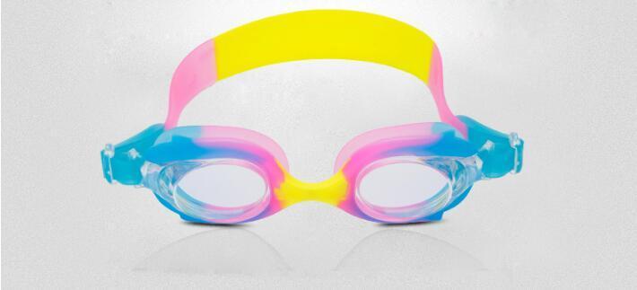 Underwater eyewears Kids swimming goggles PC lens antifog cartoon colored children under 13 years old swim goggles