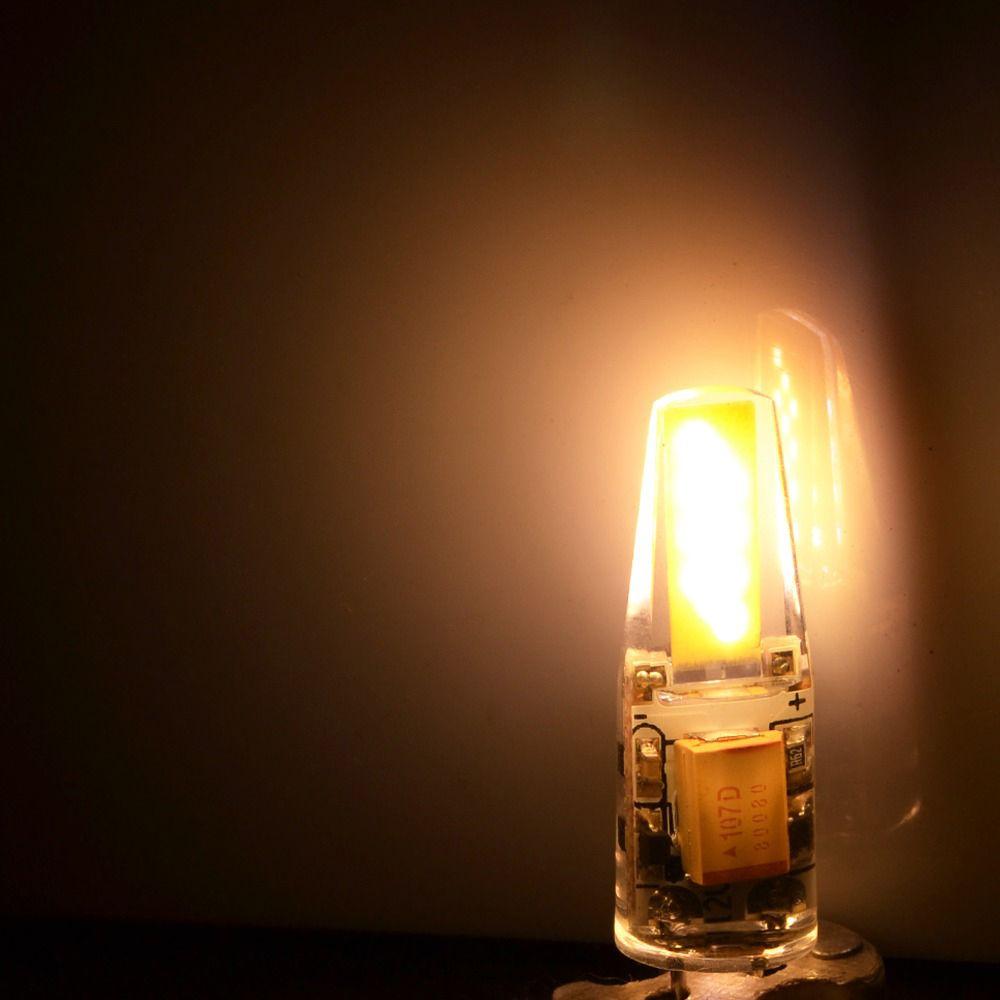Hot sales COB G4 led spotlights spot bulb lights dc12v dimmable led bulbs crystal lightings for Chandelier candle lamps decoration