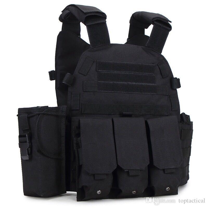 A buon mercato Sport esterno US Molle Tactical Vest CS Combat Vest Gilet Pratico Plate Carrier in vendita