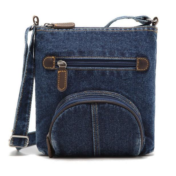 Wholesale Womens Denim Messenger Bags Ladies Mini Small Shoulder ...