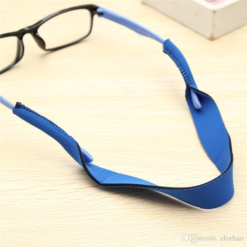النظارات الشمسية حزام النيوبرين الرياضة النظارات الشمسية النظارات الرقبة الحبل التوكيل الشريط اختيار اللون العلامة التجارية الجديدة