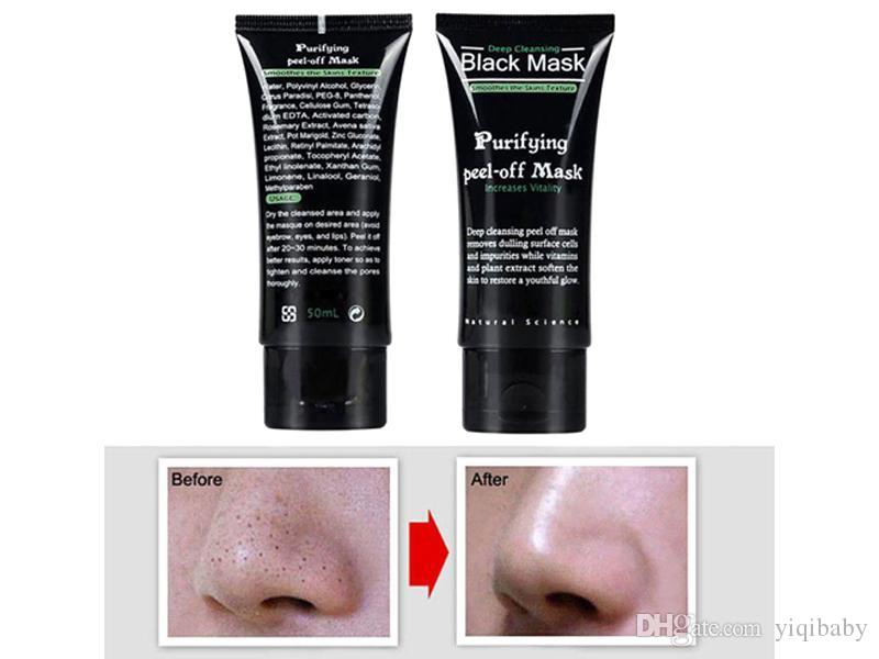 yq Shills Peel-off face Masks Deep Cleansing Black MASK 50ML Blackhead Facial Mask Shills Deep Cleansing Black MASK Matte Dyy