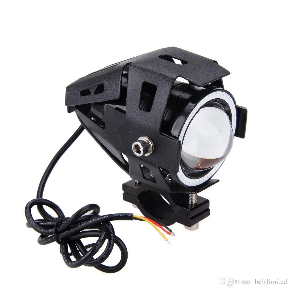 Meilleure qualité 15w moto phare 2000lm IP65 6500K projecteur U7 LED imperméable moto tête lampe 2016