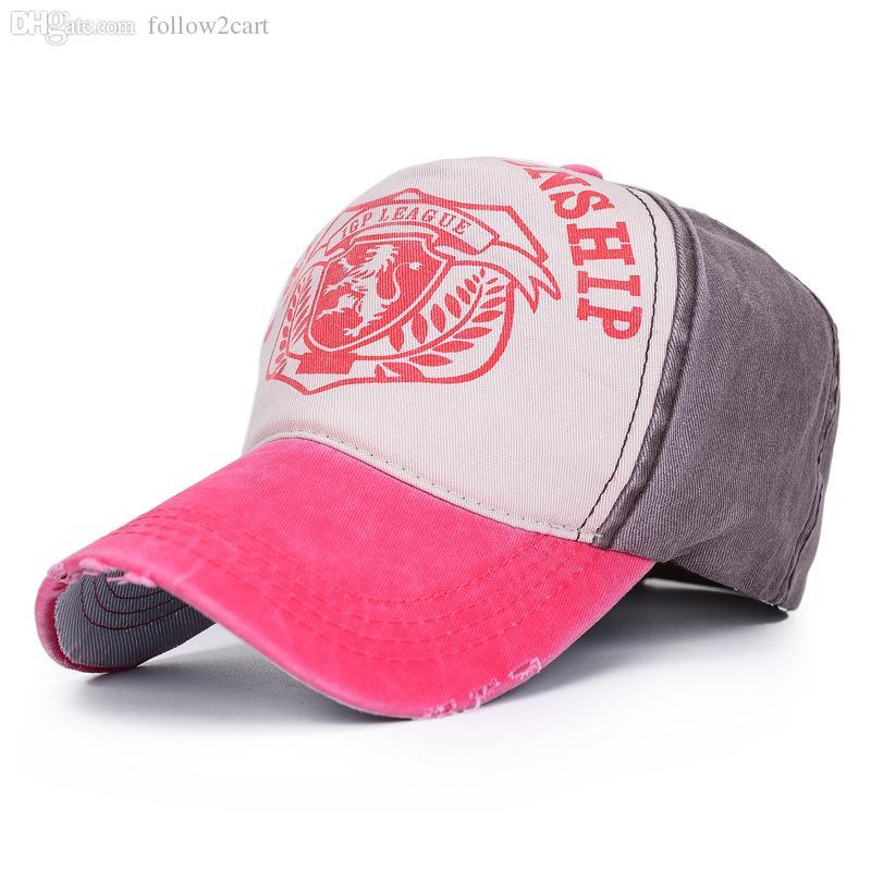 Nueva Moda Gorras Snapback Cap Hat Hombres Hip Hop Gorra de béisbol Color de la mezcla Patchwork Sombrero al aire libre para mujeres Gorra con la letra