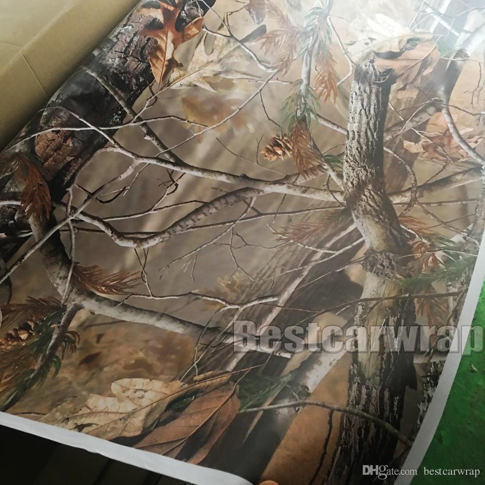 RealTree 카모 비닐 랩 이끼 나무 잎 위장 카 랩 TRUCK CAMO TREE PRINT DUCK 그래픽 디자인 크기 1.52 x 30m / 롤