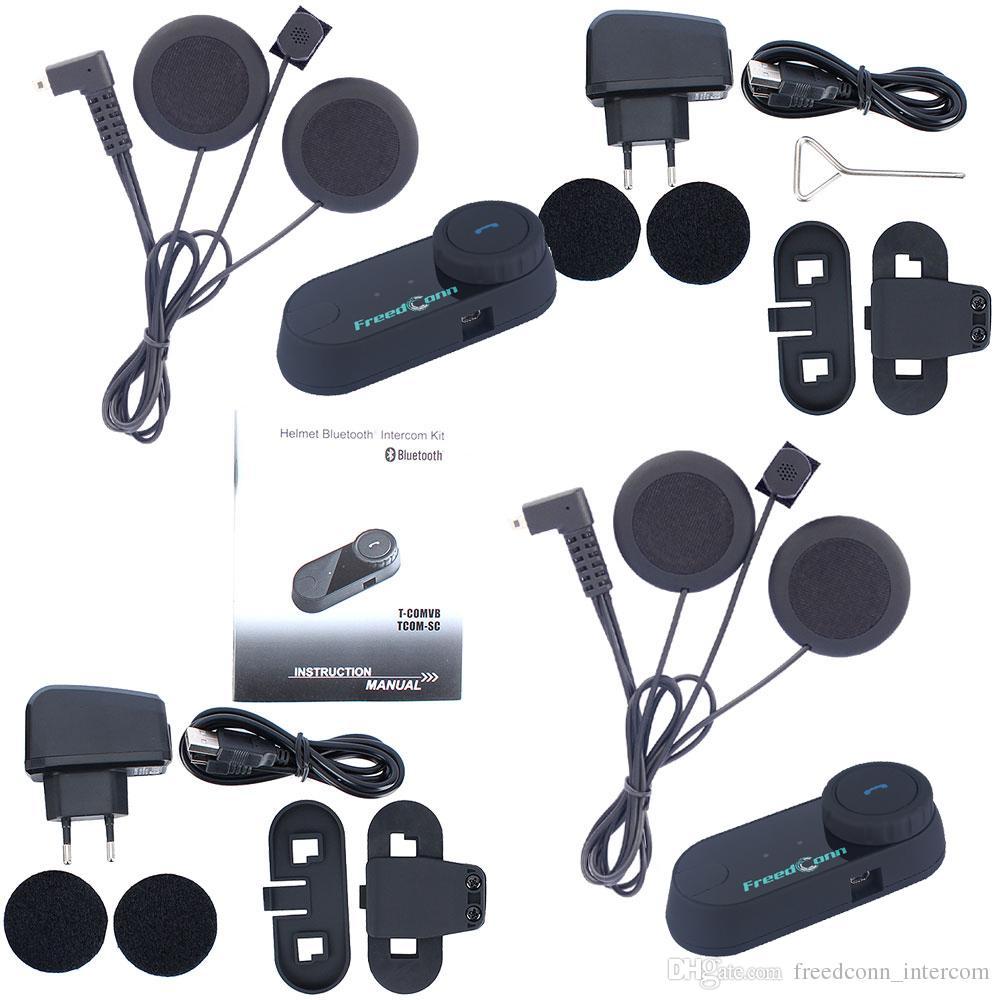 FreedConn / Set Radio FM Rider pour Rider Interphone Casque de moto Bluetooth BT Intercom Casque Casque Bluetooth Intercom Casque