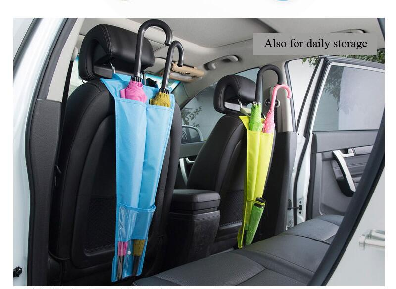 Car Styling Seat Pockets Back Umbrella Backseat Storage Cover Bags ...