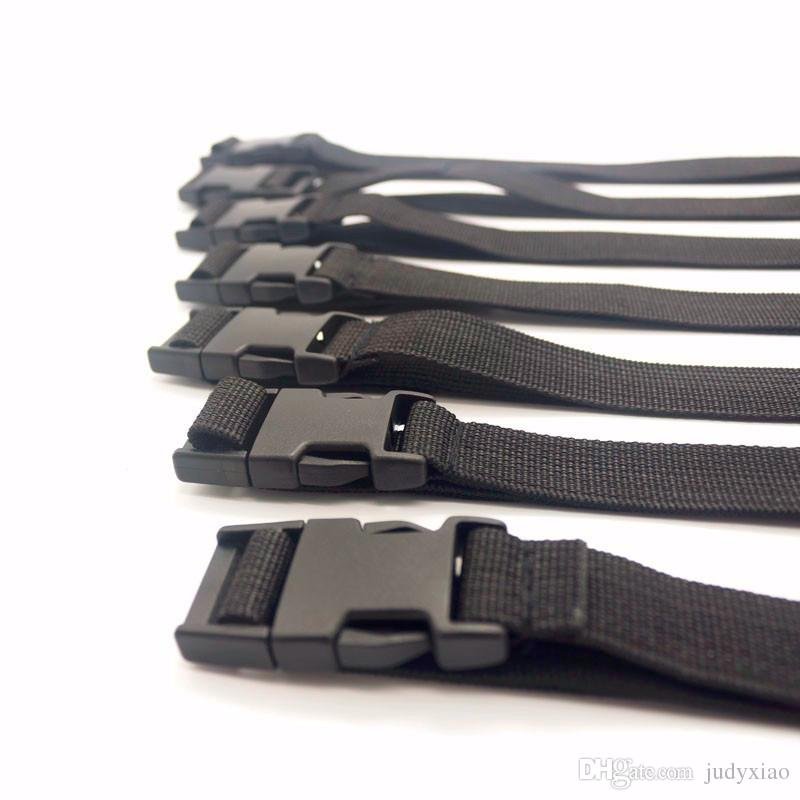 BDSM Bondage Gear Sex Restraints Nylon Strap Slave Handcuffs Foot Cuffs Full Body Binder Erotic Play Sex Toys for Couples GN302405175