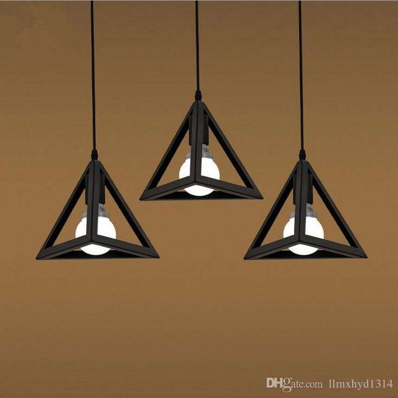 Vintage Industrial Retro Pendant Lamp Loft E27 Edison Lights Holder For Dining Room Kitchen Lighting Fixtures Decoration Hanging Pendants