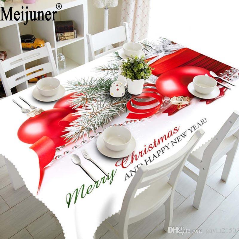 Tovaglia natalizia Tastecloth eco-friendly mobili e stoviglie di Natale