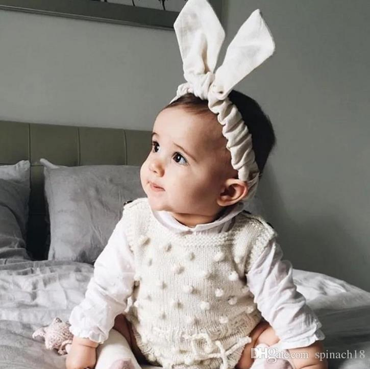 Ins Spring Autumn Infant Baby Knitted Rompers Boys Girls Knitwear Overalls Sweater Romper Children Toddlers Climb Clothes 3056