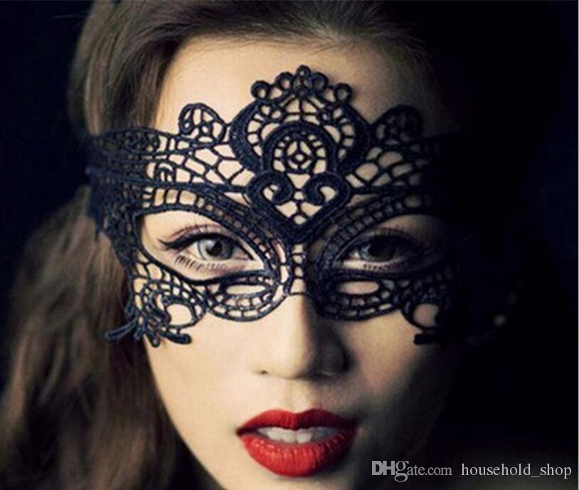 Lace Party Masks Sexy Halloween Masks Carnival Women Ladies Sexy Eye lace Mask bachelorette party wedding masquerade Face Veil