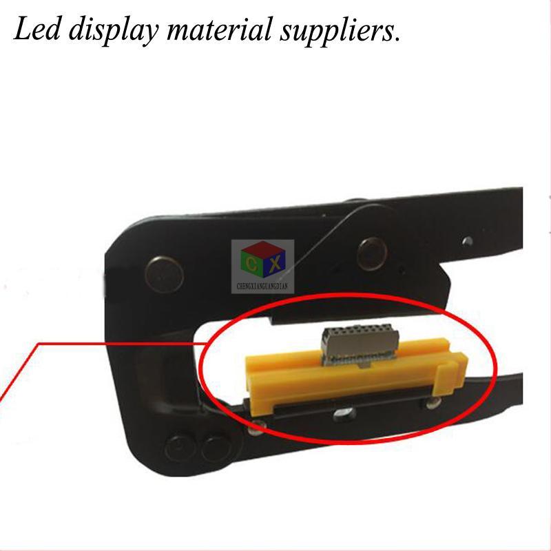 أدى عرض الإعلان شاشة 16P أدوات إنتاج كابل الضغط خط كماشة كماشة سلك تجريد الأسلاك