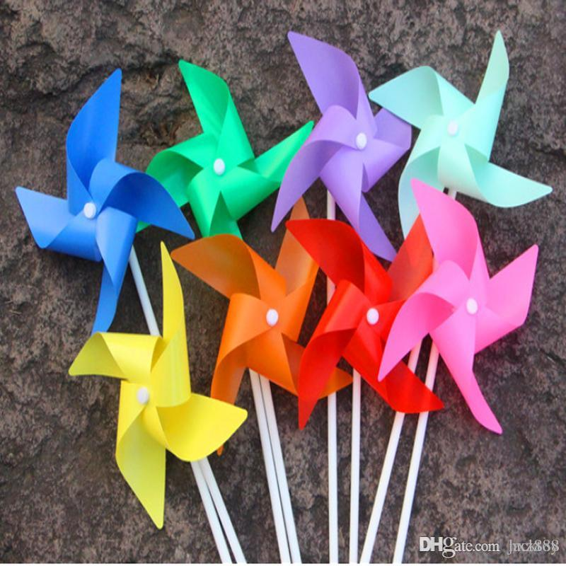 Plastic Windmill Pinwheel Self Assembly Colorful Windmill Childrenu0027S Toys  Home Garden Yard Decor Outdoor Toy Xmas Gifts Christmas Gifts From Jacktoy,  ...