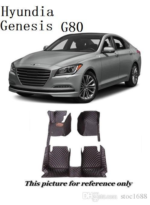 2016 Hyundai Genesis All Weather Floor Mats Carpet