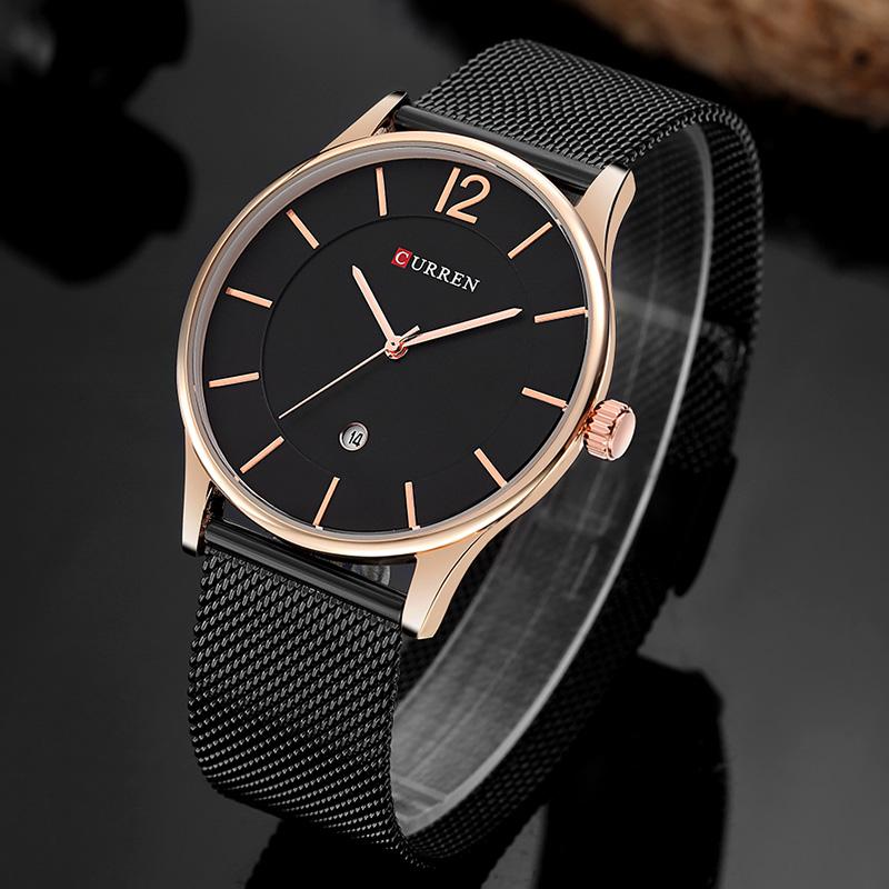 08659210084 Curren 8231 Fashion Casual Quartz Watch For Men Complete Calendar Water  Resistant Luxury Brand Wholesale Relogio Masculino Cheap Watch Cheap  Watches Online ...