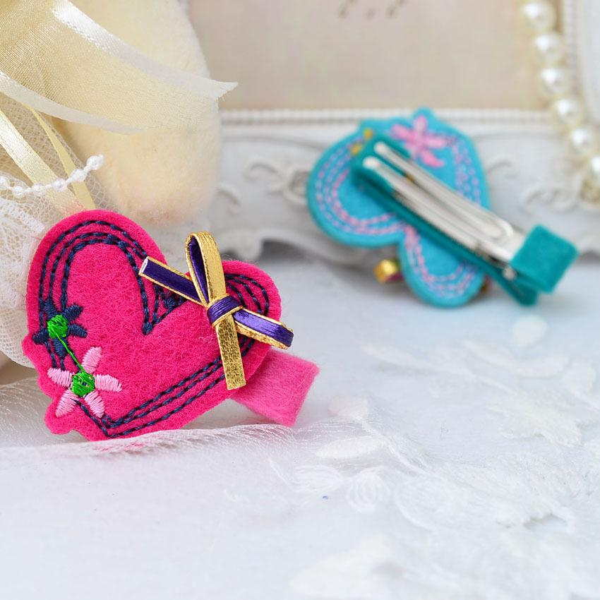 Children Butterfly Hair Barrettes Clips Pin for Kids Girls Hair Accessories Baby Hairbows Girl Hair Bows with Clips