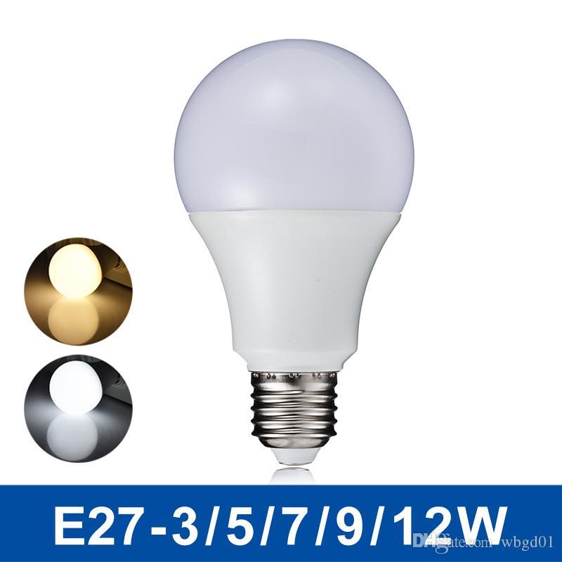 NeUe Led - Lampe E27 3w 5w 7w 9w Sprecher 220V 110v Real Watt Led ...