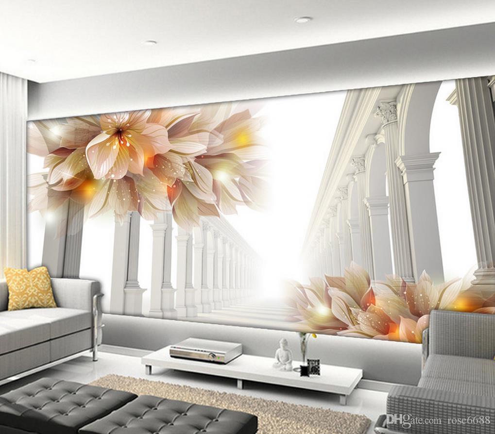 Acheter Photo N\'importe Quelle Taille 3d Belles Fleurs Dans La ...