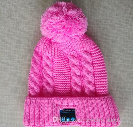 New Arrival Bluetooth beanie Hat Cap Knitted Winter Magic Hands-free Music mp3 Hat for Woman Men Sports Smartphones