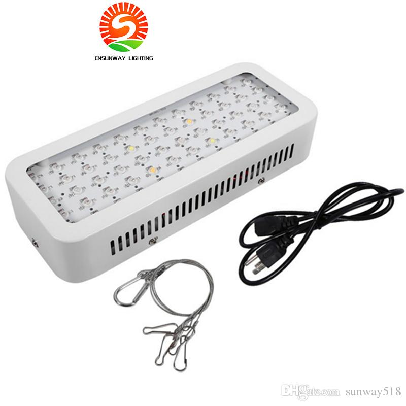 AC85-265V 600W Led coltiva la luce per i semi di fiori Indoor Full Spectrum 60 LED pianta coltiva la luce Hydroponics Vegs Flowering Panel Lamp